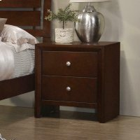 Serenity Rich Merlot Nightstand Product Image