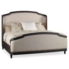 Bedroom Corsica Dark King Shelter Bed