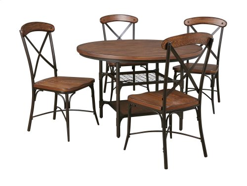 Rolena - Brown Set Of 2 Dining Room Chairs