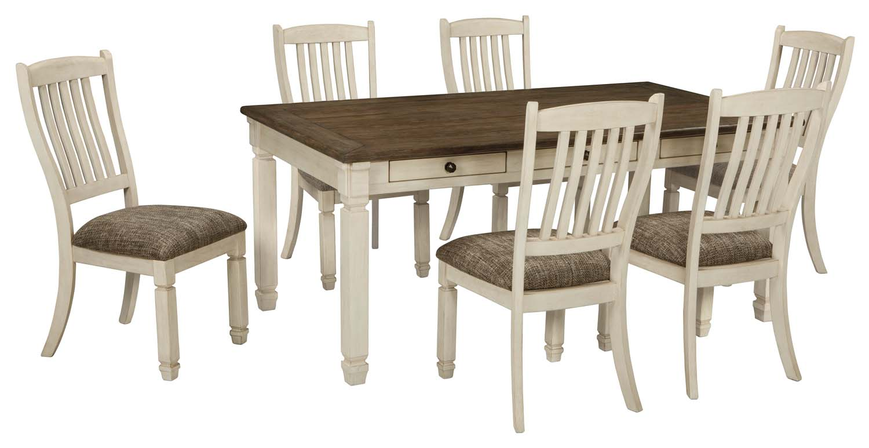 Bolanburg   Antique White 5 Piece Dining Room Set