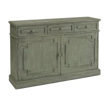 Credenza - Antique Eucalyptus Finish