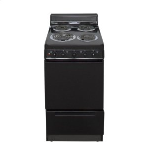 Premier20 in. Freestanding Electric Range in Black