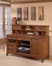Cross Island - Medium Brown 2 Piece Home Office Set Product Image