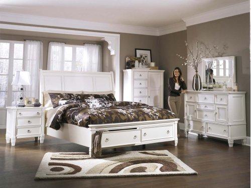 Prentice - White 2 Piece Bedroom Set