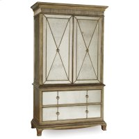 Bedroom Sanctuary Armoire - Visage Product Image
