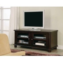 Casual Merlot TV Console