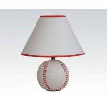 Ceramic Table Lamp Baseball