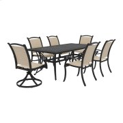 Bass Lake - Beige/Brown 3 Piece Patio Set Product Image
