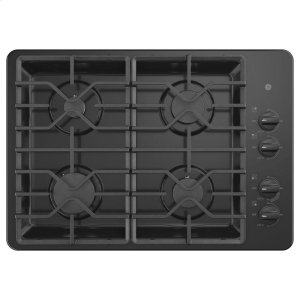 "GEGE(R) 30"" Built-In Gas Cooktop with Dishwasher-Safe Grates"