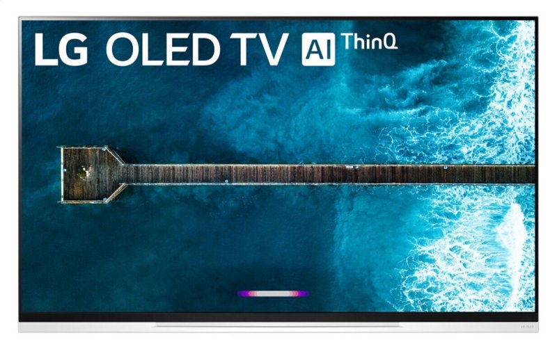 LG E9 Glass 55 inch Class 4K Smart OLED TV w/AI ThinQ® (54 6'' Diag)