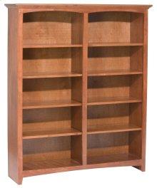 """GAC 60""""H x 48""""W McKenzie Alder Bookcase"""