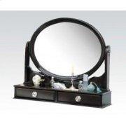 Espresso Mirror W/jewelry Drw Product Image