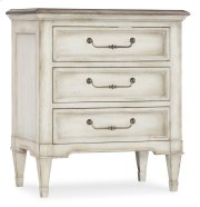 Bedroom Arabella Three-Drawer Nightstand Product Image