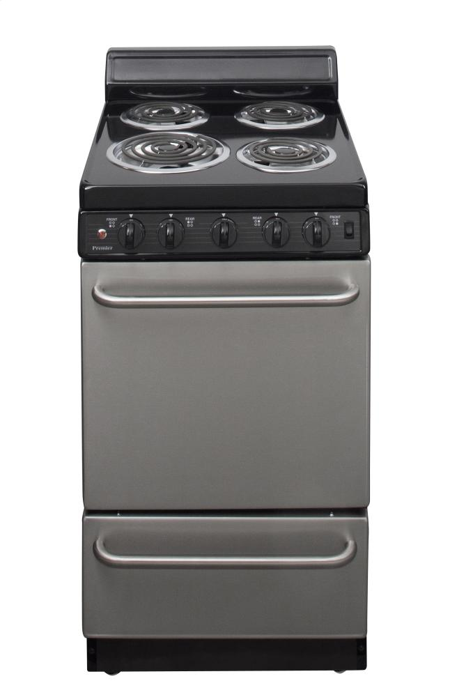 20 in. Freestanding Electric Range in Stainless Steel  STAINLESS STEEL