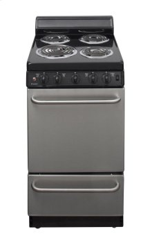 20 in. Freestanding Electric Range in Stainless Steel