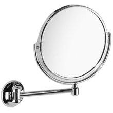 Chrome Plate Plain / magnifying (x3) pivotal mirror