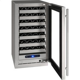 """5 Class 18"""" Wine Captain® Model With Stainless Frame (with Lock) Finish and Right-hand Hinged Door Swing (115 Volts / 60 Hz)"""