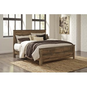 Ashley Furniture Trinell - Brown 3 Piece Bed Set (King)