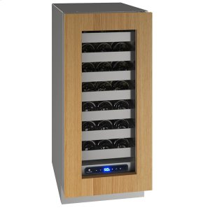 "U-Line15"" Wine Refrigerator With Integrated Frame Finish and Field Reversible Door Swing (115 V/60 Hz Volts /60 Hz Hz)"