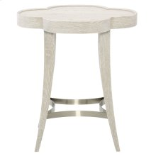 Domaine Blanc Chairside Table in Dove White (374)