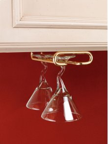 "Rev-A-Shelf - 3150-11BR - 11"" Stemware Holder"