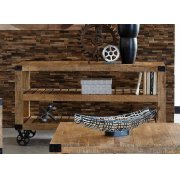Industrial Natural Mango Sofa Table Product Image
