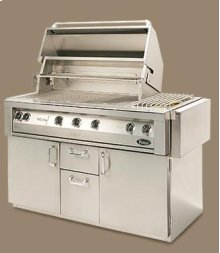 "Vintage 56"" Luxury Gas Grill - Built-in Model"