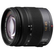 LUMIX G Vario Lens, 14-45mm, F3.5-5.6 ASPH., Micro Four Thirds, MEGA Optical I.S. - H-FS014045