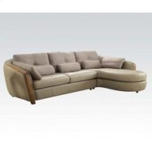 Wilko Sectional Sofa W/pillows