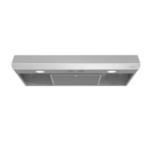 BroanSahale 30-Inch 250 CFM Stainless Steel Range Hood with light