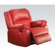 Red Rocker Recliner Product Image