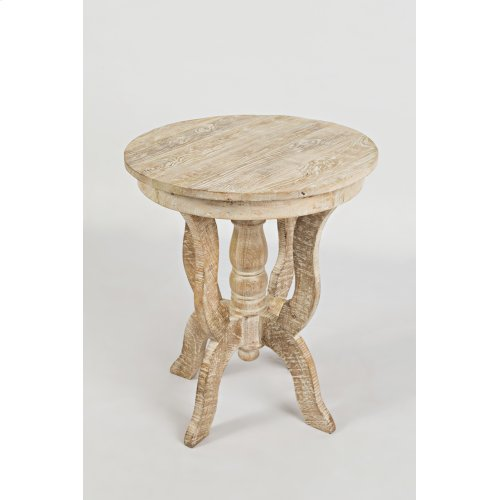 Global Archive Round Accent Table