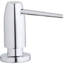 "Elkay 1-3/4"" x 4-1/2"" x 3"" Soap / Lotion Dispenser, Chrome (CR)"