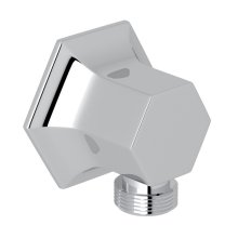 Polished Chrome Bellia Wall Outlet