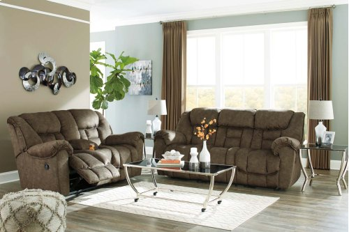 Capehorn Reclining Sofa - Earth