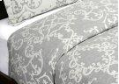 Lido Jacquard Charcoal King Duvet 108x94 Product Image