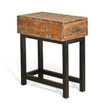 Havana Chair Side Table (Wood Base)