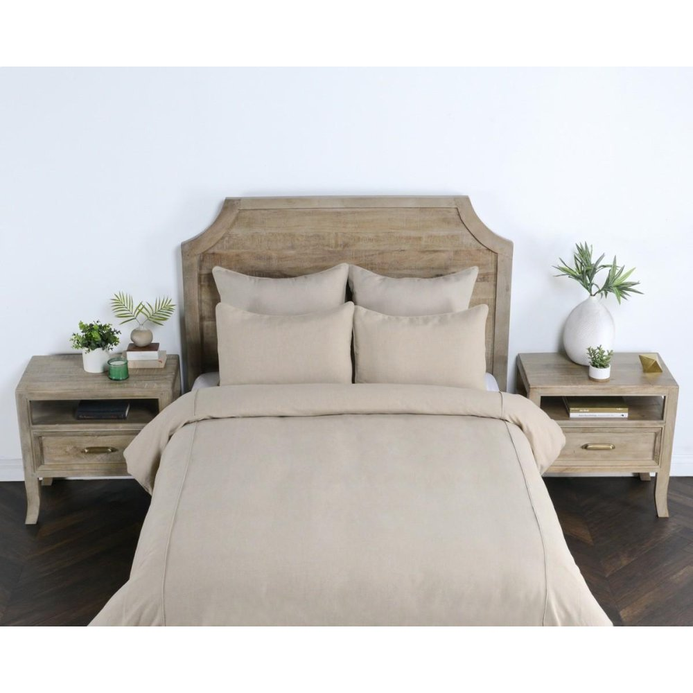 Clarin Natural Queen Duvet 92x90