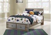 McKeeth - Gray 4 Piece Bed Set (Full)