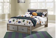 McKeeth - Gray 4 Piece Bed Set (Full)