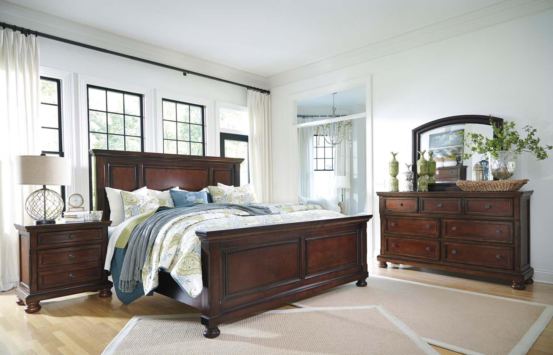Etonnant Porter   Rustic Brown 3 Piece Bed Set (King)