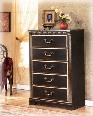 B17546 five drawer chest by ashley furniture behar 39 s for Furniture in everett wa