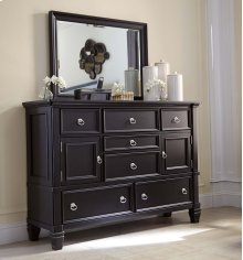 Greensburg - Black 2 Piece Bedroom Set