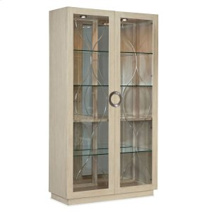 Hooker FurnitureDining Room Newport Ano Nuevo Display Cabinet