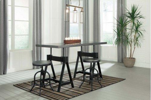 Minnona - Multi 3 Piece Dining Room Set