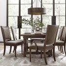 """Compass 74"""" Trestle Dining Table Product Image"""