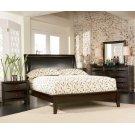 Phoenix Deep Cappuccino King Five-piece Bedroom Set Product Image
