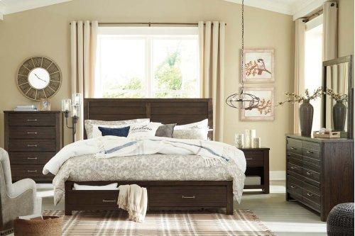 Darbry - Brown 2 Piece Bedroom Set