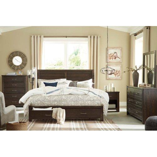 Darbry - Brown 3 Piece Bed Set (King)