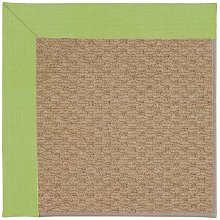 Creative Concepts-Raffia Canvas Parrot Machine Tufted Rugs